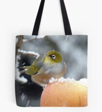 Geeeezzz!! Guess What I Woke Up To This Morning! - Wax-Eye - NZ Tote Bag