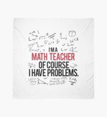 Mathe Lehrer mit Problemen Tuch