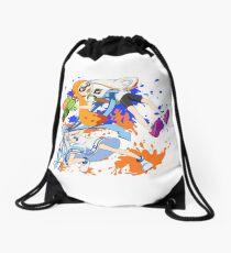 Splatoon ~ Inkling Girl Meets Squid Girl~ Drawstring Bag