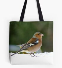 There Are Meagre Pickings Today! - Chaffinch - NZ Tote Bag