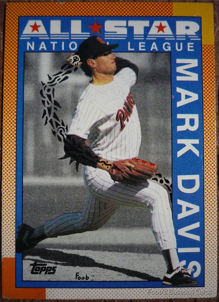 284 - Mark Davis by Foob's Baseball Cards