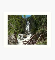 Fish Creek Falls: Steamboat Springs, CO Art Print
