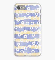 Yellow purple stripes iPhone Case/Skin