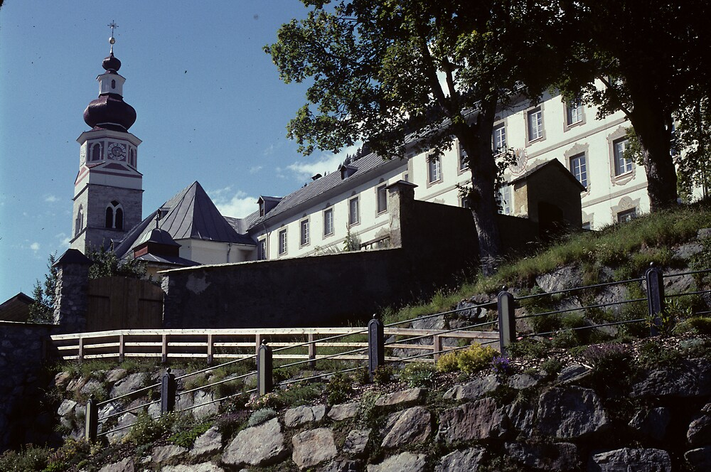 The Pilgrim church in Maria Lugau by bertspix