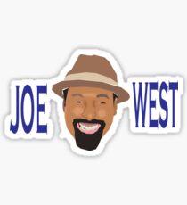 """The Flash """"Joe West"""" Shirt Sticker"""