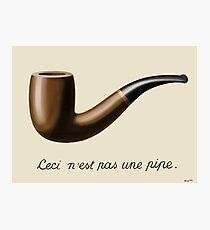 The Treachery of Images - Magritte Photographic Print