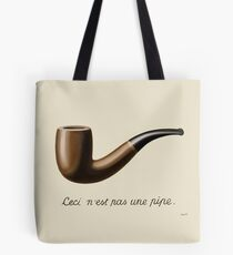 Bolsa de tela La traición de imágenes - Magritte