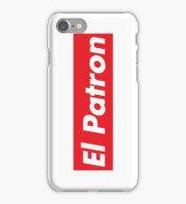 El Patron Supreme iPhone Case/Skin