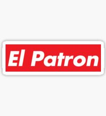 El Patron Supreme Sticker