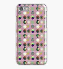 Pattern with drops iPhone Case/Skin