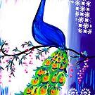 Peacocks by cathyjacobs