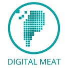 Digital Meat Logo With Text by Digital Meat