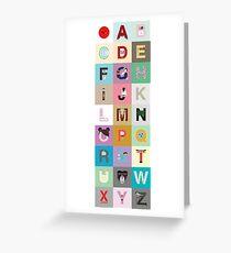 Helvetica meets 日本 Greeting Card