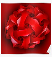red lantern for Christmas Poster