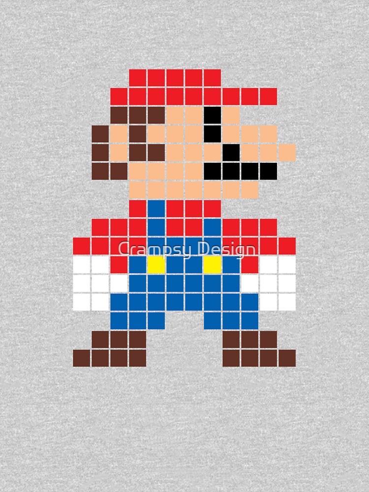 Super Mario 8-Bit Sprite Modern Colors by Crampsy