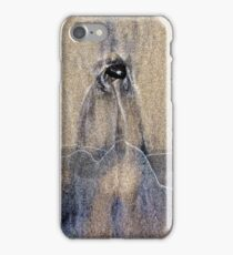 Penguin in the Sand iPhone Case/Skin