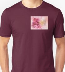 Serenity Prayer Quince Fence 3 Pink Unisex T-Shirt