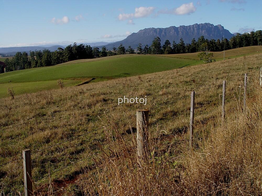 photoj Tas Mt Roland Country by photoj
