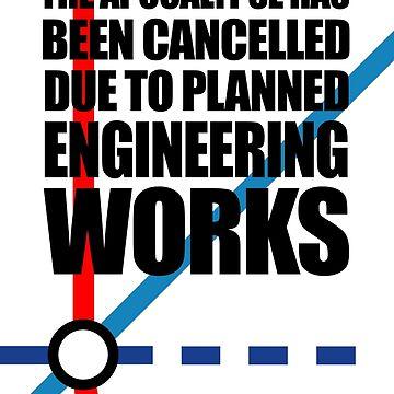 Die Apokalypse wurde wegen geplanten Ingenieurarbeiten abgebrochen von jezkemp