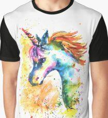 Unicorn Splash Graphic T-Shirt