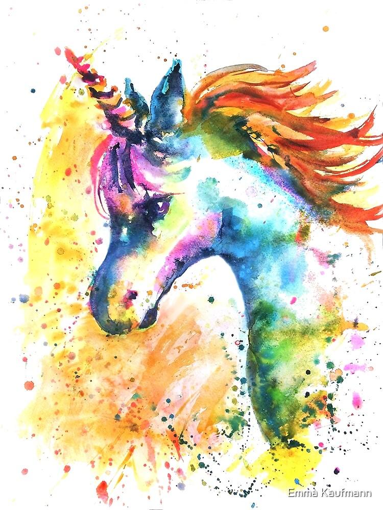 Unicorn Splash by Emma Kaufmann