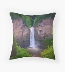 Taughannock Falls Throw Pillow