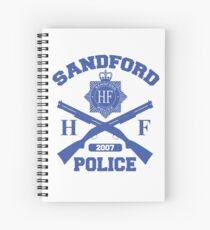 Cuaderno de espiral Policía de sandford