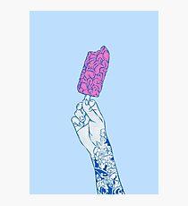 Brain ice cream! mmmmm Photographic Print