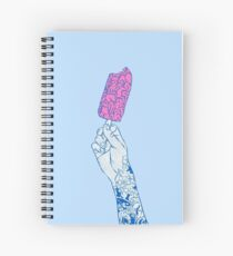 Brain ice cream! mmmmm Spiral Notebook