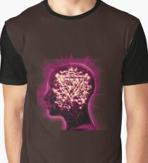 Purple Mindsweep Graphic T-Shirt