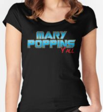 Mary Poppins Y'all Women's Fitted Scoop T-Shirt