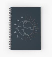 Cuaderno de espiral Tragarse el sol
