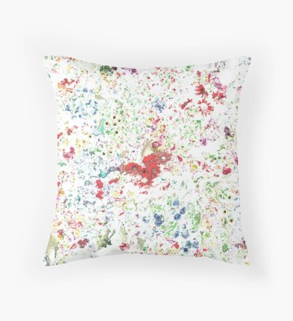 flowers galore - 3  Throw Pillow