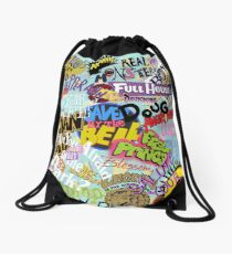 Childhood Tv Drawstring Bag
