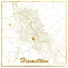 Hamilton Karte Gold von HubertRoguski