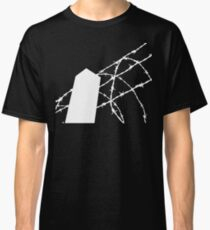 White Wire Fence Classic T-Shirt