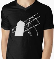 White Wire Fence T-Shirt