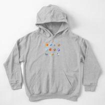 Sudadera con capucha para niños Planetas del sistema solar