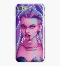 I ate her (neon version) iPhone Case/Skin