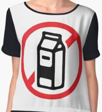 No milk - no dairy Women's Chiffon Top