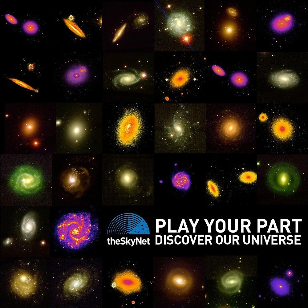 theSkyNet Galaxy Grid by icrar