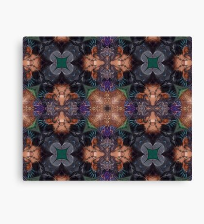 Pulse fire Canvas Print