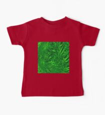 Abstract green dynamic fractal texture Kids Clothes