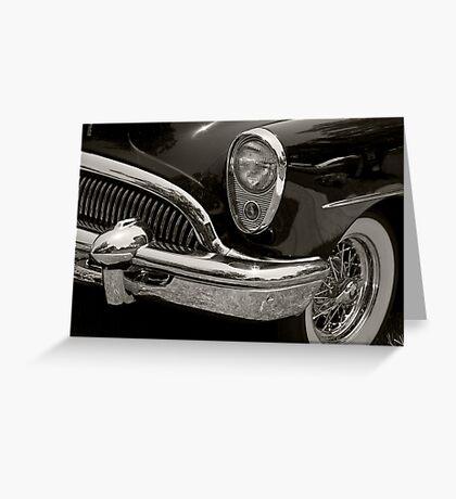 1954 Buick Riviera Roadmaster Greeting Card