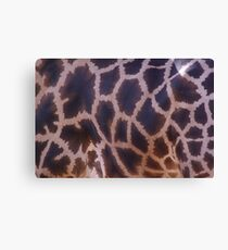 Animal Prints Look Best on Animals - Giraffe Canvas Print