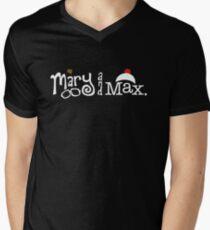 Mary and Max (white) Men's V-Neck T-Shirt