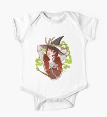 the witch with her mouse One Piece - Short Sleeve