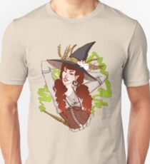 the witch with her mouse Unisex T-Shirt