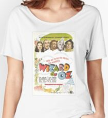 Wizard of Oz Movie Poster Women's Relaxed Fit T-Shirt