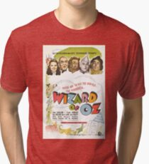 Wizard of Oz Movie Poster Tri-blend T-Shirt